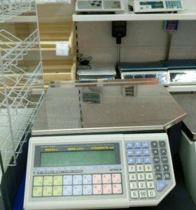 Весы Штрих-Принт с печатью этикеток
