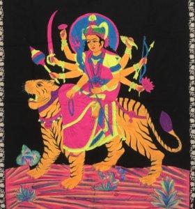 Индийские флюро полотна