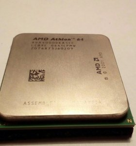 Процессор АМD Athlon 64 2,4 GHz