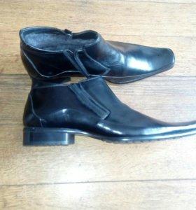Зимние туфли новые 44 размера