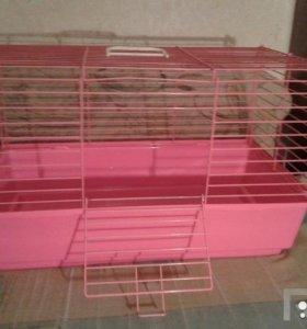 Клетка для декоративного кролика/морской свинки