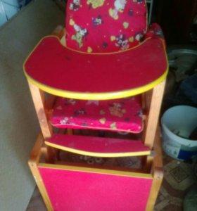 Детский стульчик-транформер