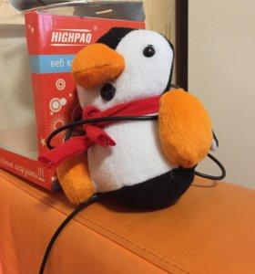Web-камера детская пингвин новая