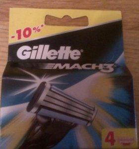Кассеты для бритвеных станков Gillette Mach 3