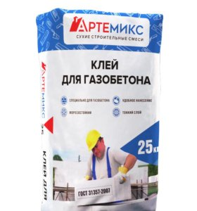 Клей для блоков газобетона Морозостойкий