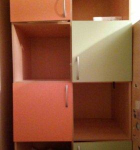 Кровать чердак и два шкафа