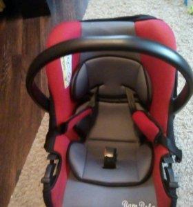 Авто кресло-люлька(отличное состояние)
