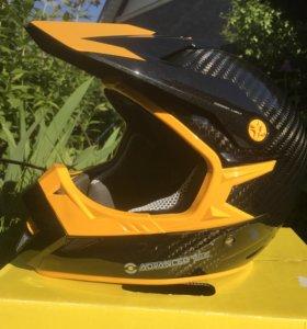 Шлем карбон кроссовый BRP
