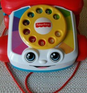 Новый музыкальный телефон каталка