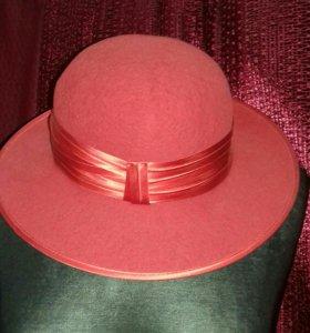 Шляпки. 54-56 размер. Цилиндр, 59 размер