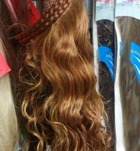 Волосы на ободке