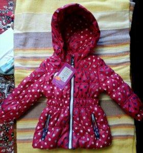 Куртка для девочки, куртка для ребёнка