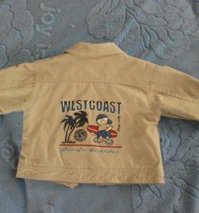 Куртка - пиджак на молнии
