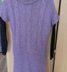 Платье вязаное Р 46-48