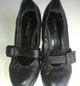 Туфли балетки на танкетке каприччи 37 размер