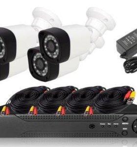 Комплект видеонаблюдение от SAT360