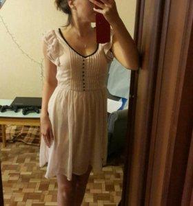 Платье шифоновое hm