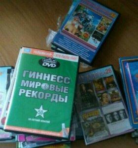 Продам диски с фильмами и мультиками