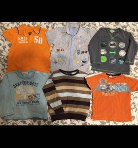 Пакет одежды 20шт для мальчика р.98-104