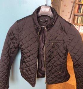 Куртка Zara чёрная , женская
