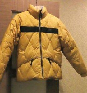 Зимняя двусторонняя куртка р.44