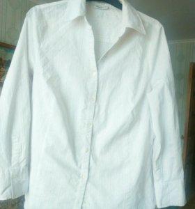 Рубашка женская белая. 52-54