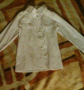Блузка белая,новая