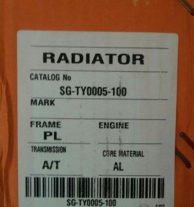 Радиатор марк 2 чайзер креста gx-100 jzx-100