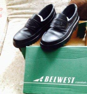 Туфли школьные,кожаные,беларусские