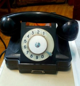 Телефон 1960 года выпуска