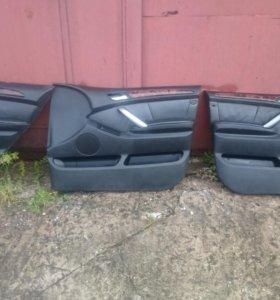 Обшивки дверей BMW X5 E53