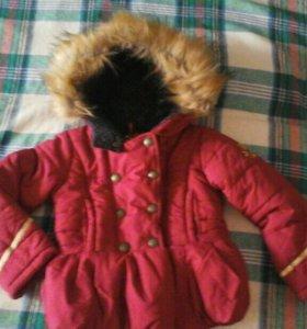 Куртка холодная осень,теплая зима