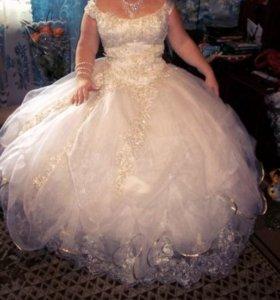 Свадебное платья))