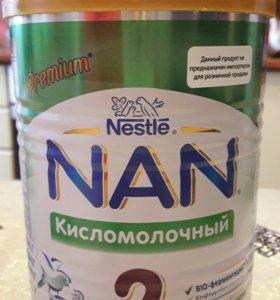 Смесь нан кисломолочный