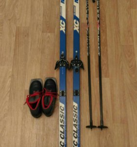 Лыжи (комплект)