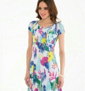 Платье б/у р-р 44.