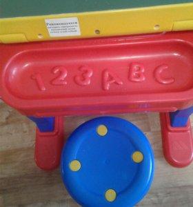 Детская парта-трансформер + стульчик
