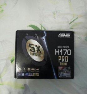 Материнская плата Asus H 170 Pro