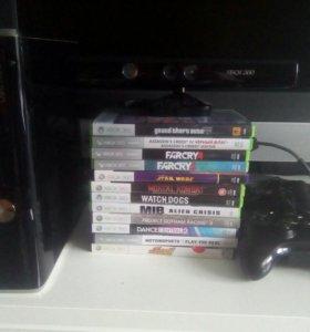 Xbox 360 lt 3.0+ kinekt+ много игр
