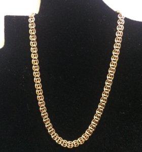 Золотой браслет 1,6 гр 585 пр 16 см