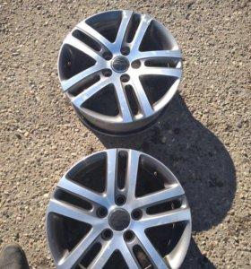 Литые диски Volkswagen и skoda