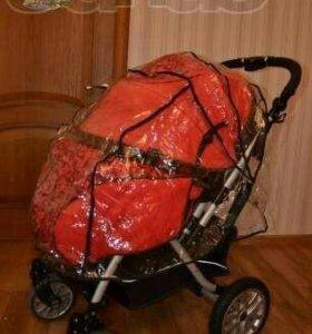 Новый дождевик на коляску