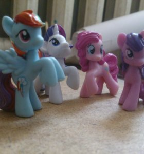 Коллекционные фигурки My little pony от Hasbro