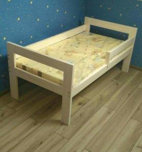 Кроватка детская+ матрас