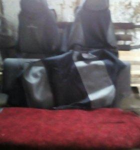 Комплект сидений ваз 21099 с чехлами