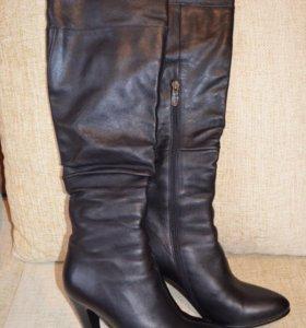 Зимние кожаные сапоги Flona collection
