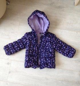 Курточка 1-2 года легкая