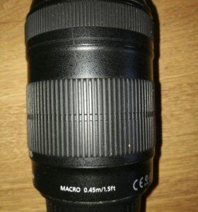 Обьктив Canon 18-135