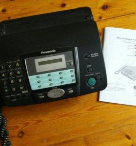 Факс телефон Panasonic KX-FT902