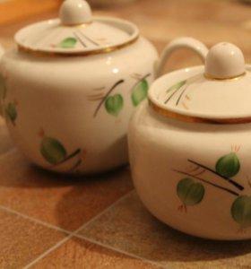 чайники и сахарницы